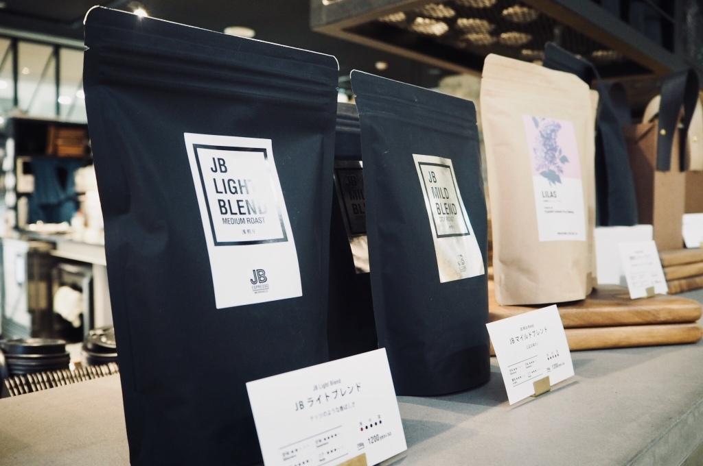 JB Espresso +D Morihico coffee merchandise