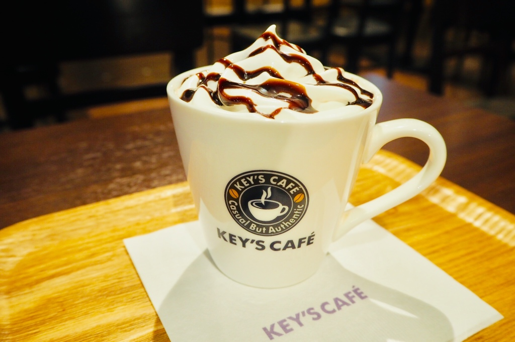 key's cafe coffee mocha